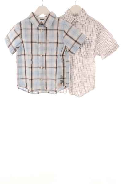 Kinder 2er-Set Hemden
