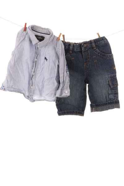 Hemd und Jeans