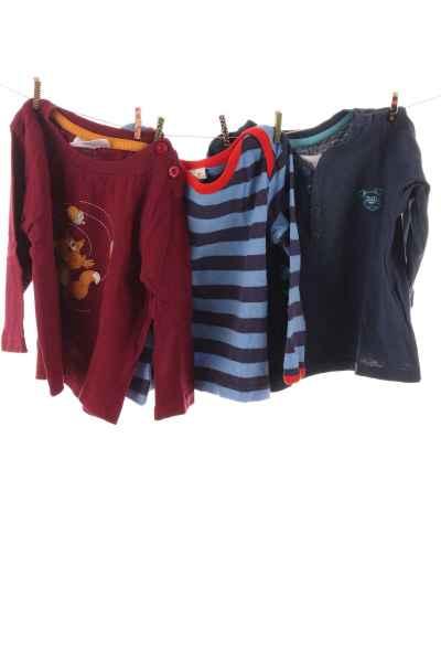 3er-Pack Langarmshirts