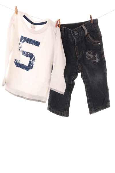 Shirt und Jeans