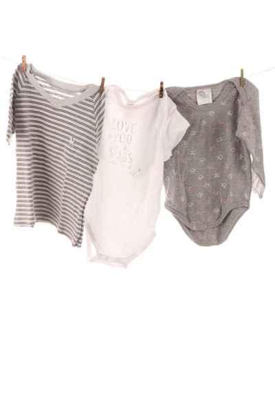 2er-Pack Bodys und Shirt