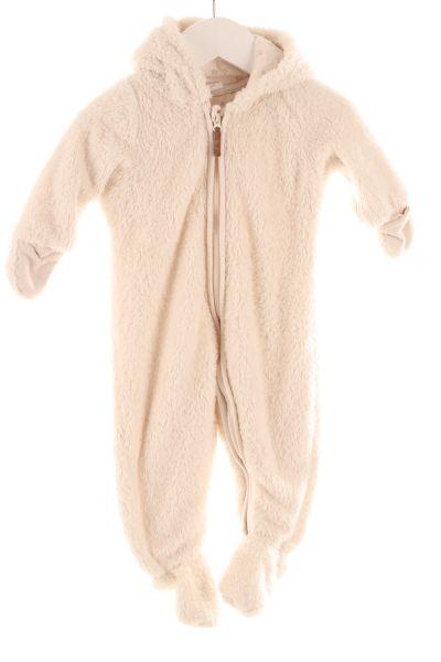 Fleece-Overall Bär
