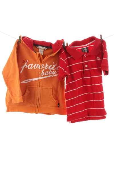 Poloshirt und Hoodie