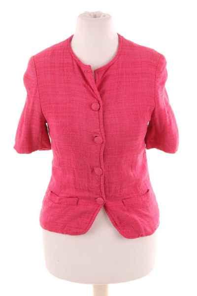 Vintage Leinen Jacke