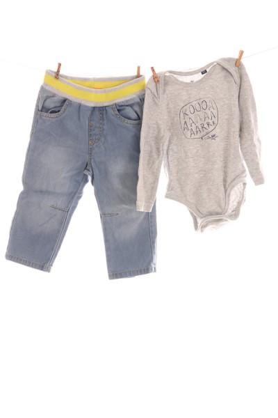 Jeans und Body