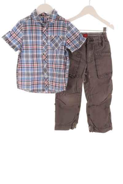 Hose und Baumwollhemd
