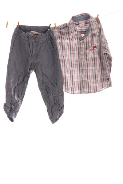 Hose und Hemd