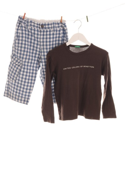 Hose und Langarmshirt