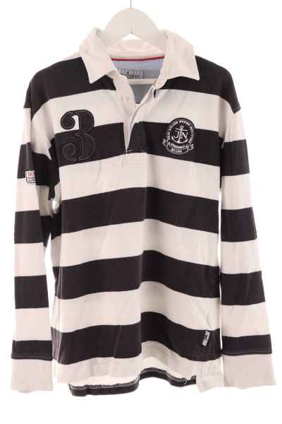 Langarm Polo-Shirt