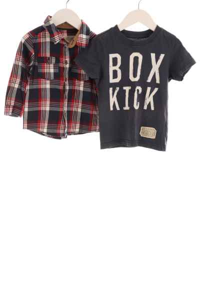 Baby Hemd und T-Shirt