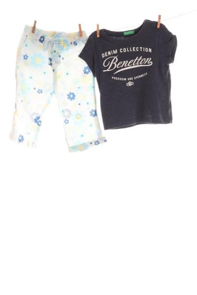 Stoffhose und Shirt