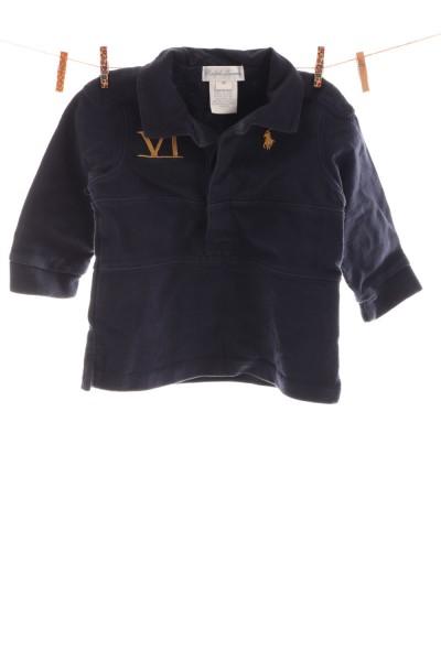 Polo-Langarmshirt
