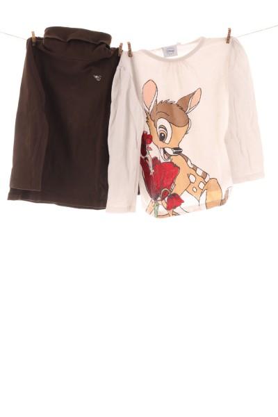 Langarmshirt und Rollkragenpullover
