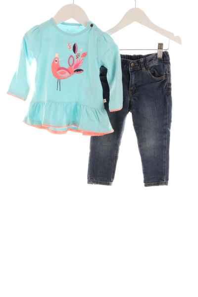Baby Tunika und Jeans