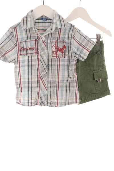 Kinder Kurzarmhemd und Shorts