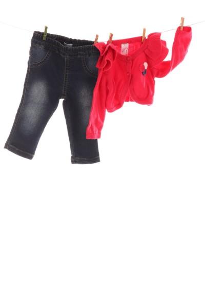 Jeans und Weste