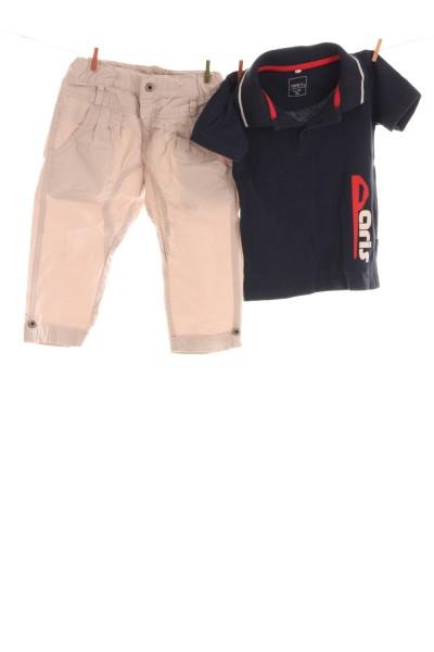 Hose und Polo-Shirt