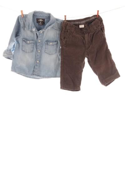 Hose und Jeansbluse