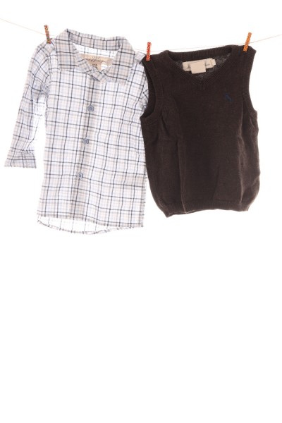 Hemd und Pullunder
