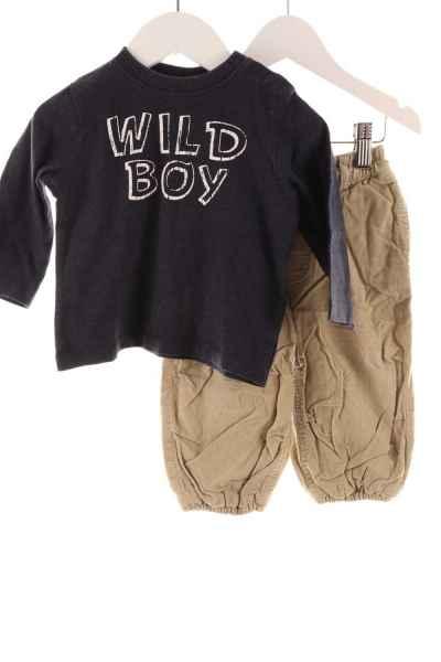 Baby Cordhose und Pullover