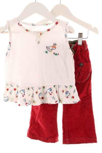 Baby Cordhose und Shirt