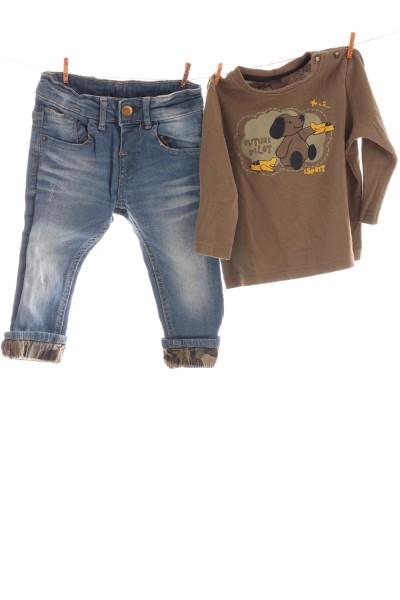 Jeans und Shirt