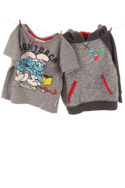"""Hoodie und T-Shirt """"Schlümpfe"""""""