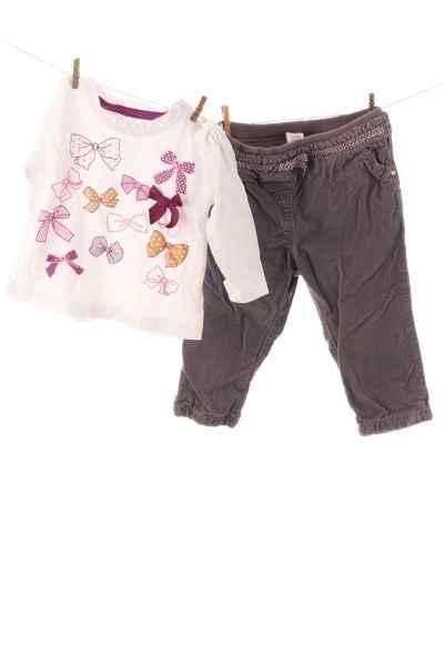 Langarmshirt und Hose