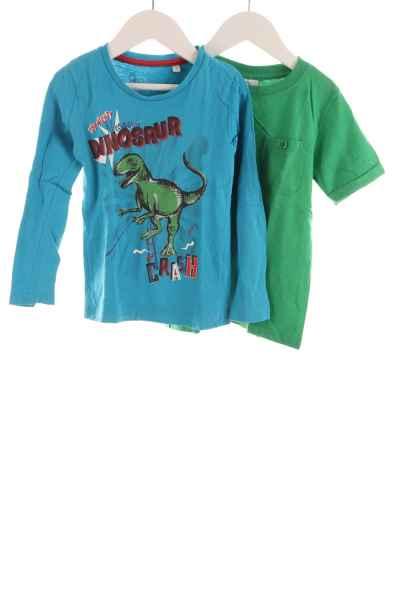 Kinder Langarmshirt und T-Shirt