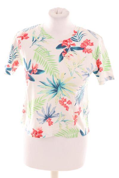 T-Shirt mit Blumen