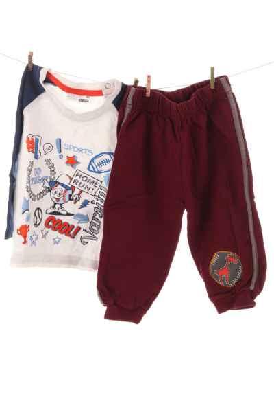 Jogginghose und Shirt