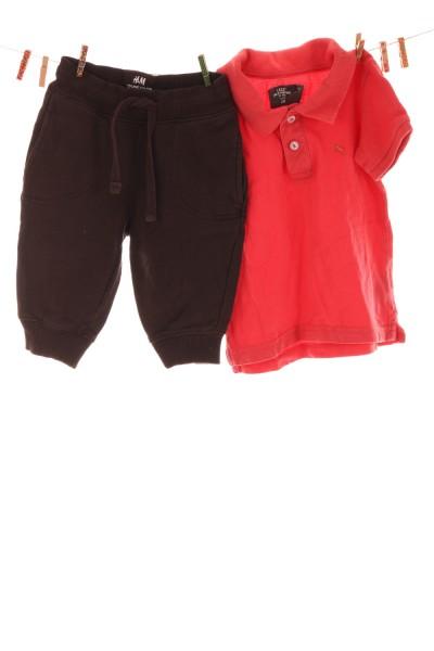 Poloshirt und Hose