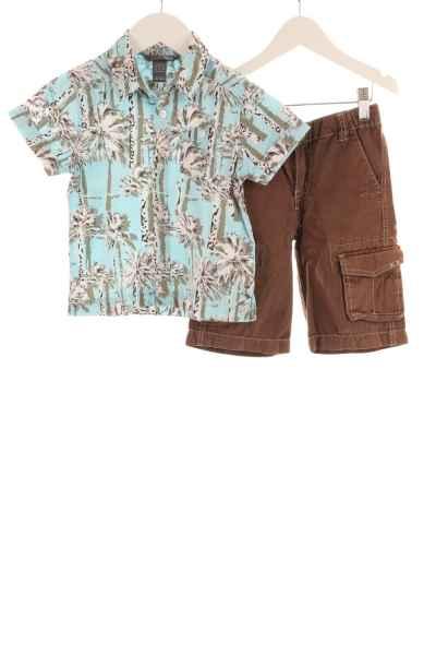 Kinder Hemd und Shorts