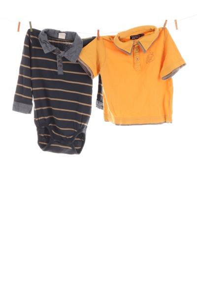 Poloshirt und Body