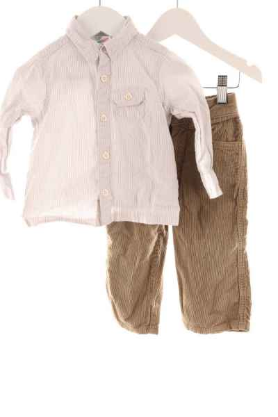 Baby Cordhose mit Hemd