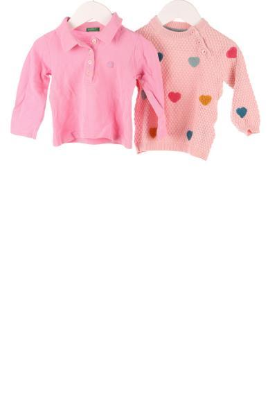 Baby Strickpullover und Poloshirt