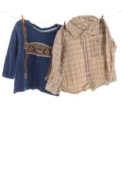 Hemd und Trachtenshirt
