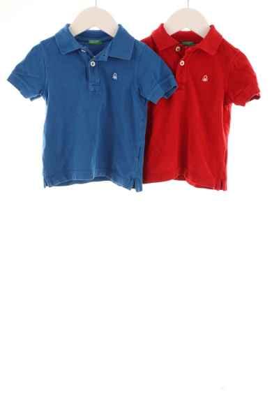 Kinder 2er-Pack Poloshirts