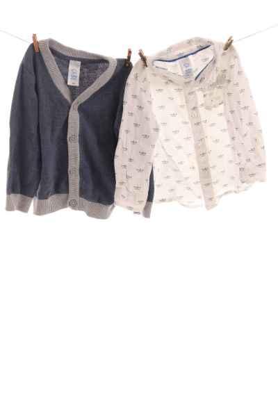 Hemd und Weste