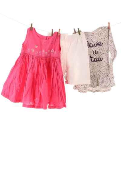 Kleiderset und Leggings