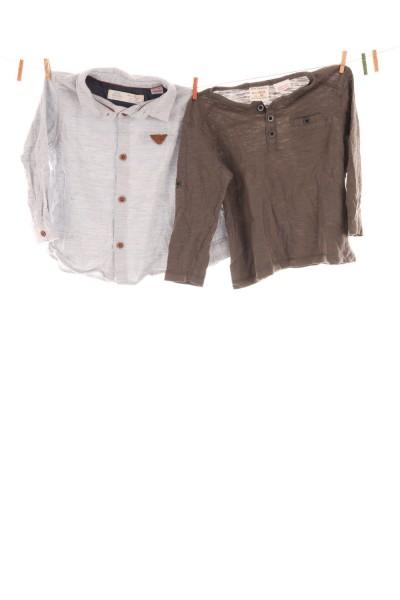 Hemd und Langarmshirt