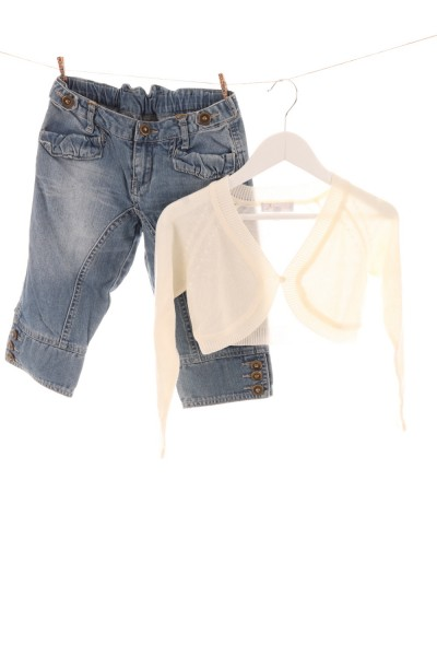 Jeans und Bolero