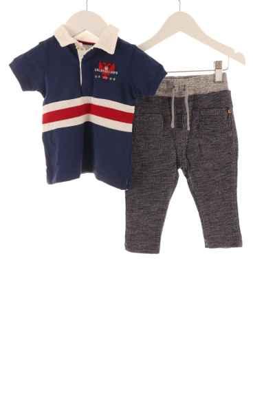Baby Poloshirt und Jogginghose