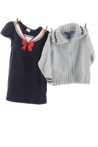 Kleid und Weste