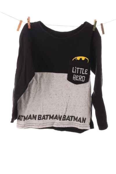 """Langarmshirt """"Little Hero"""""""