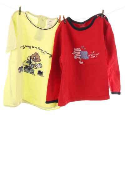 Pullover und T-Shirt