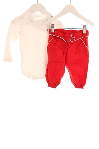 Baby Rollkragenbody und Stoffhose