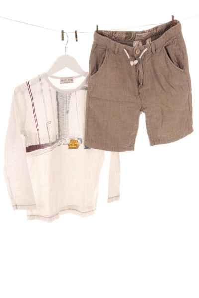 2er-Set Shorts und Shirt